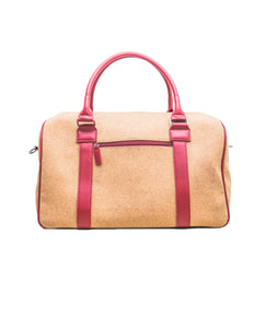 CDS Weekender Women Rose Red Bag