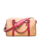 Load image into Gallery viewer, CDS Weekender Women Rose Red Bag