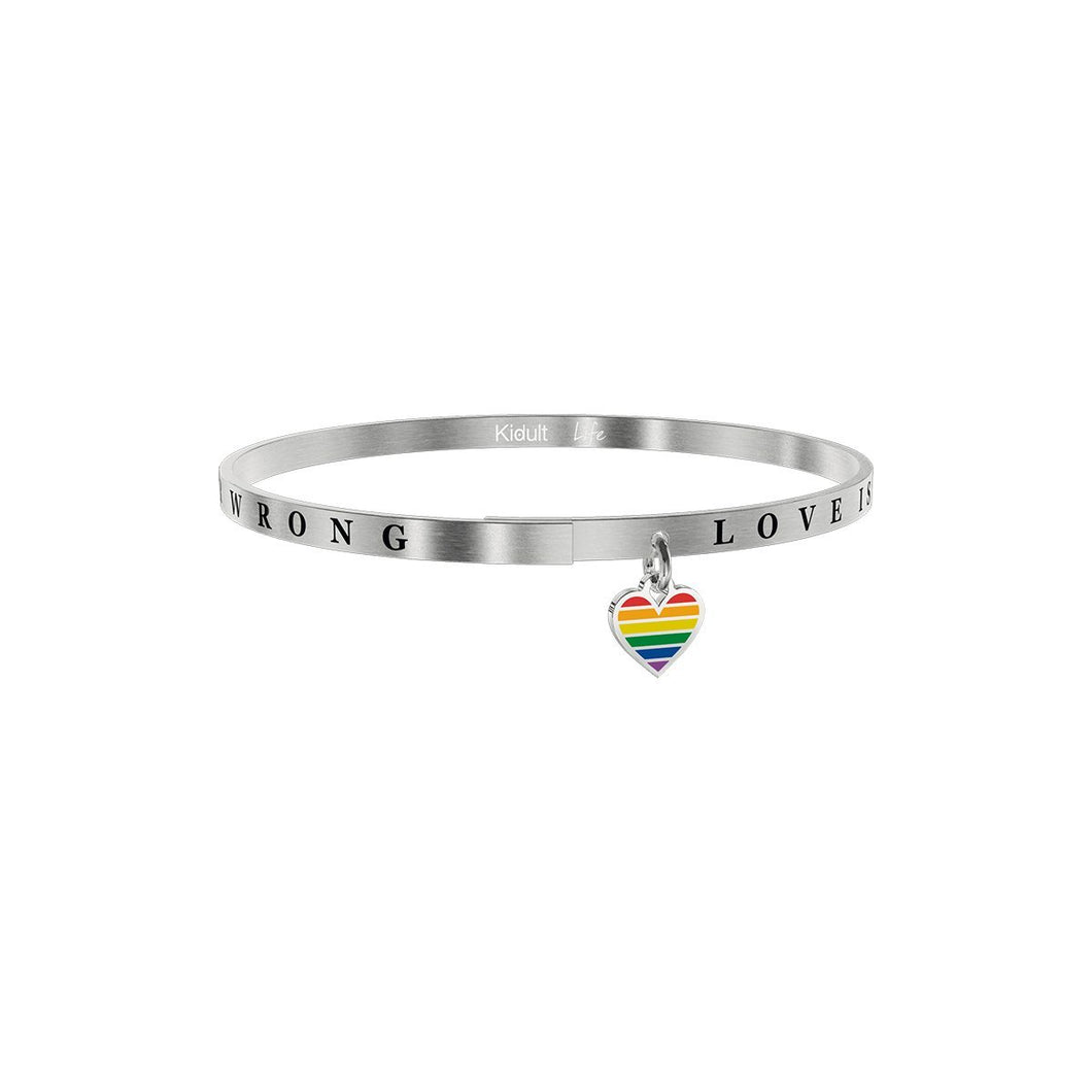 Bracciale Kidult donna LOVE IS NEVER WRONG 731739