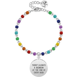 Bracciale  Kidult  donna THERE'S ALWAYS A RAINBOW AT THE END OF EVERY RAIN 731829