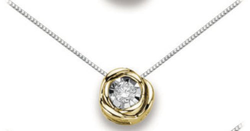 Collana Donnaoro in oro  con diamanti DHPL8322.004