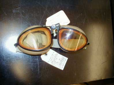 Early American Optical Flight Goggles
