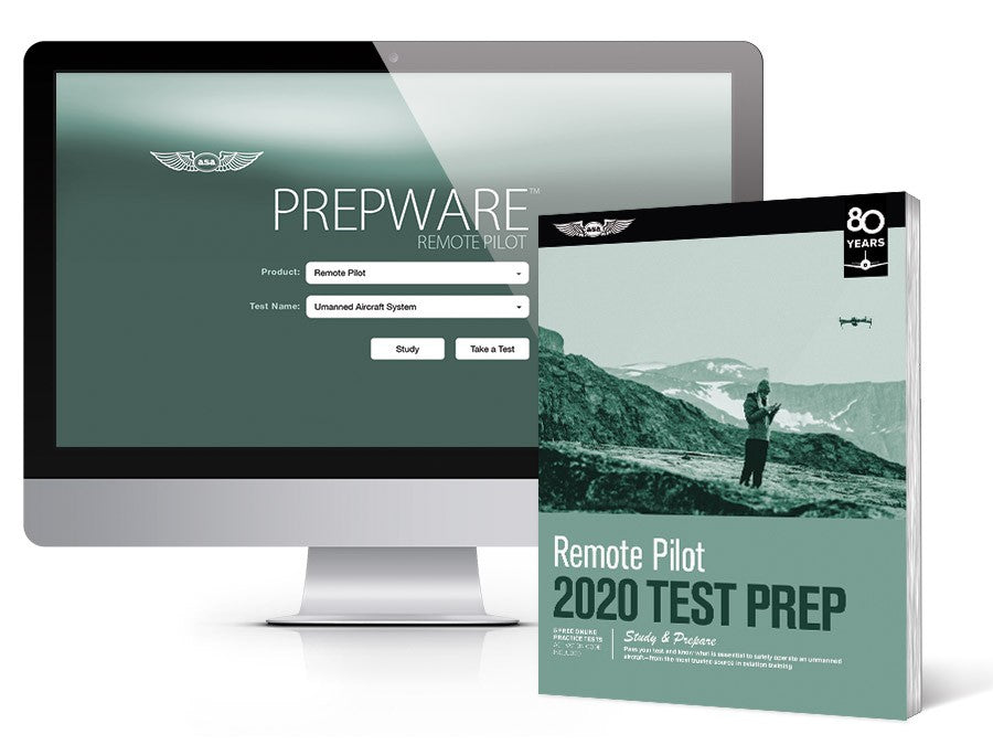 2019: Test Prep Bundle: Remote Pilot ISBN: 978-1-61954-470-3 ASA TPB-UAS-19