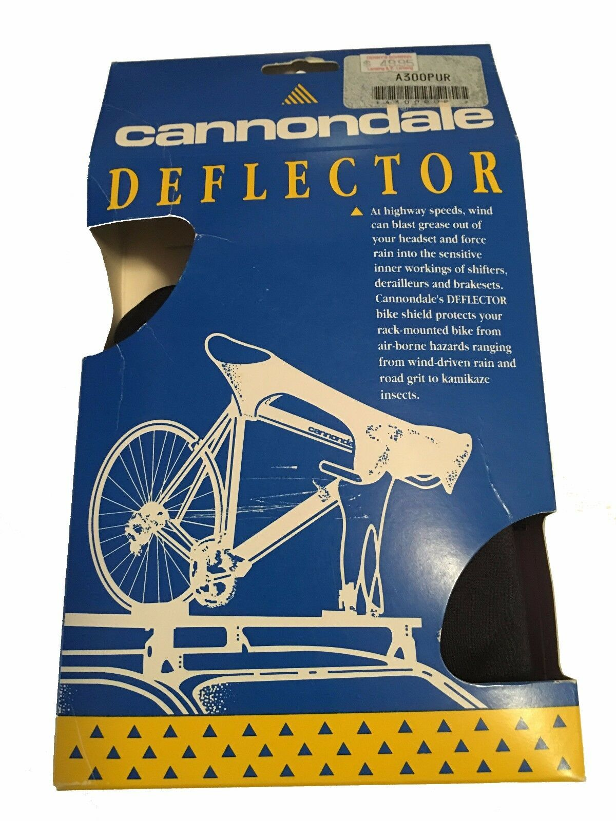Cannondale Bike Deflector Protects Your Rack Mounted Bike From Airborne Hazards