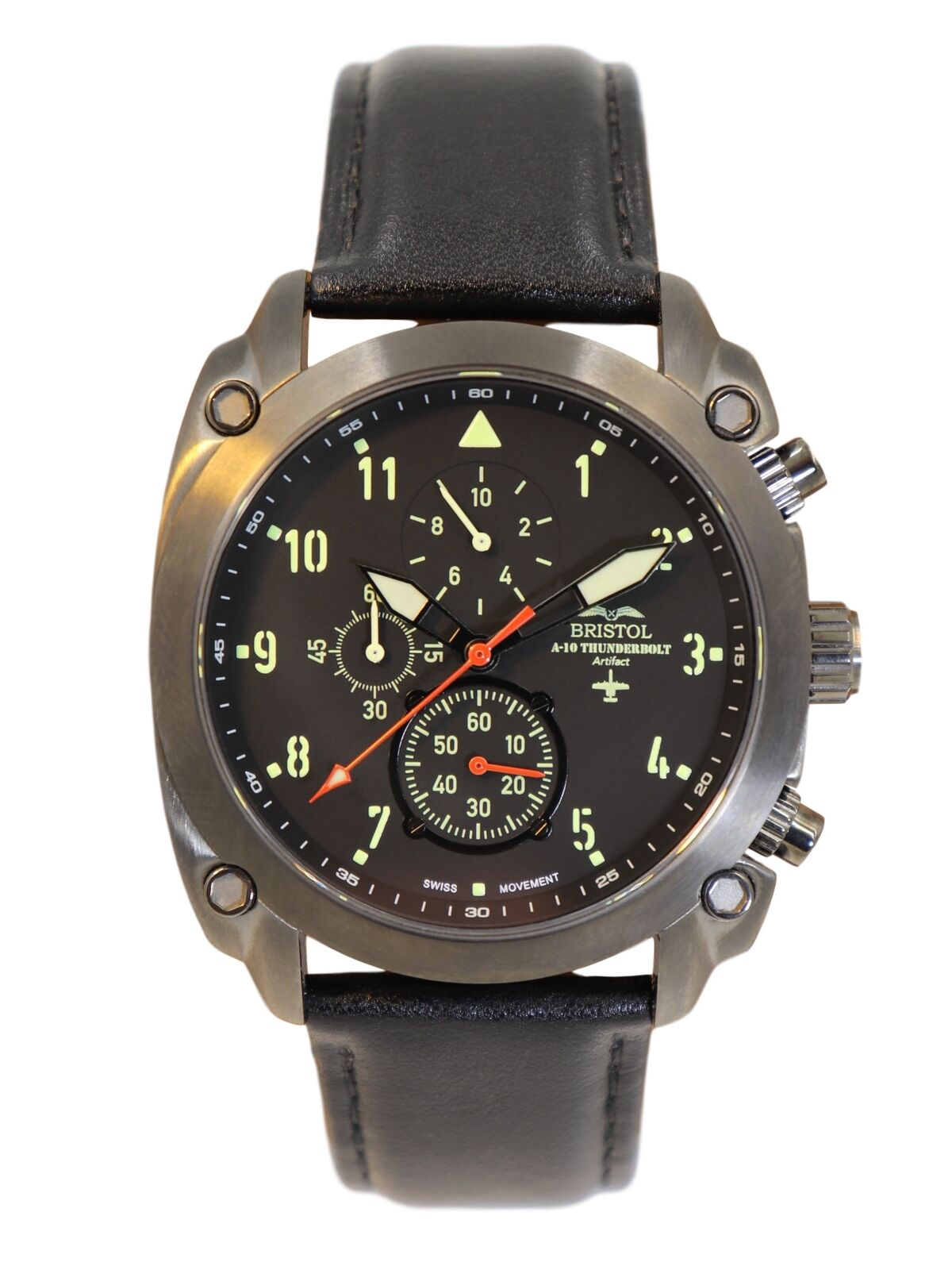 A10 Aviation Watch Made With Real A10 Metal Plus Pilot Functions