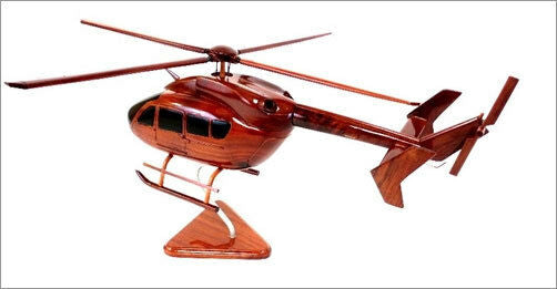 UH-72 Lacota Helicopter Beautiful Premium Mahogany Wood Display Desk Model
