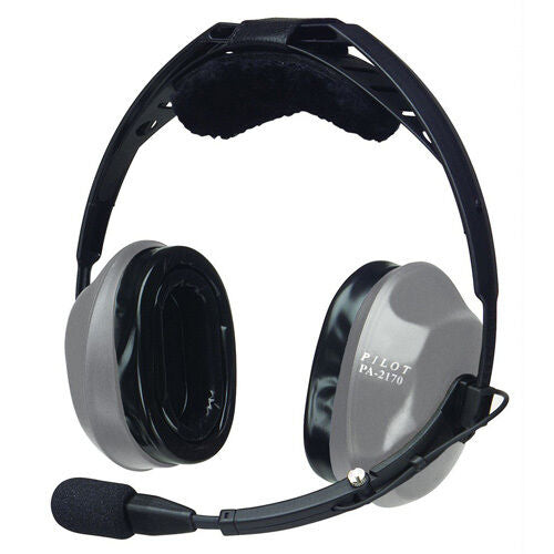 New PilotUSA PA-2170T Passive Headset with included Headset Carrying Bag