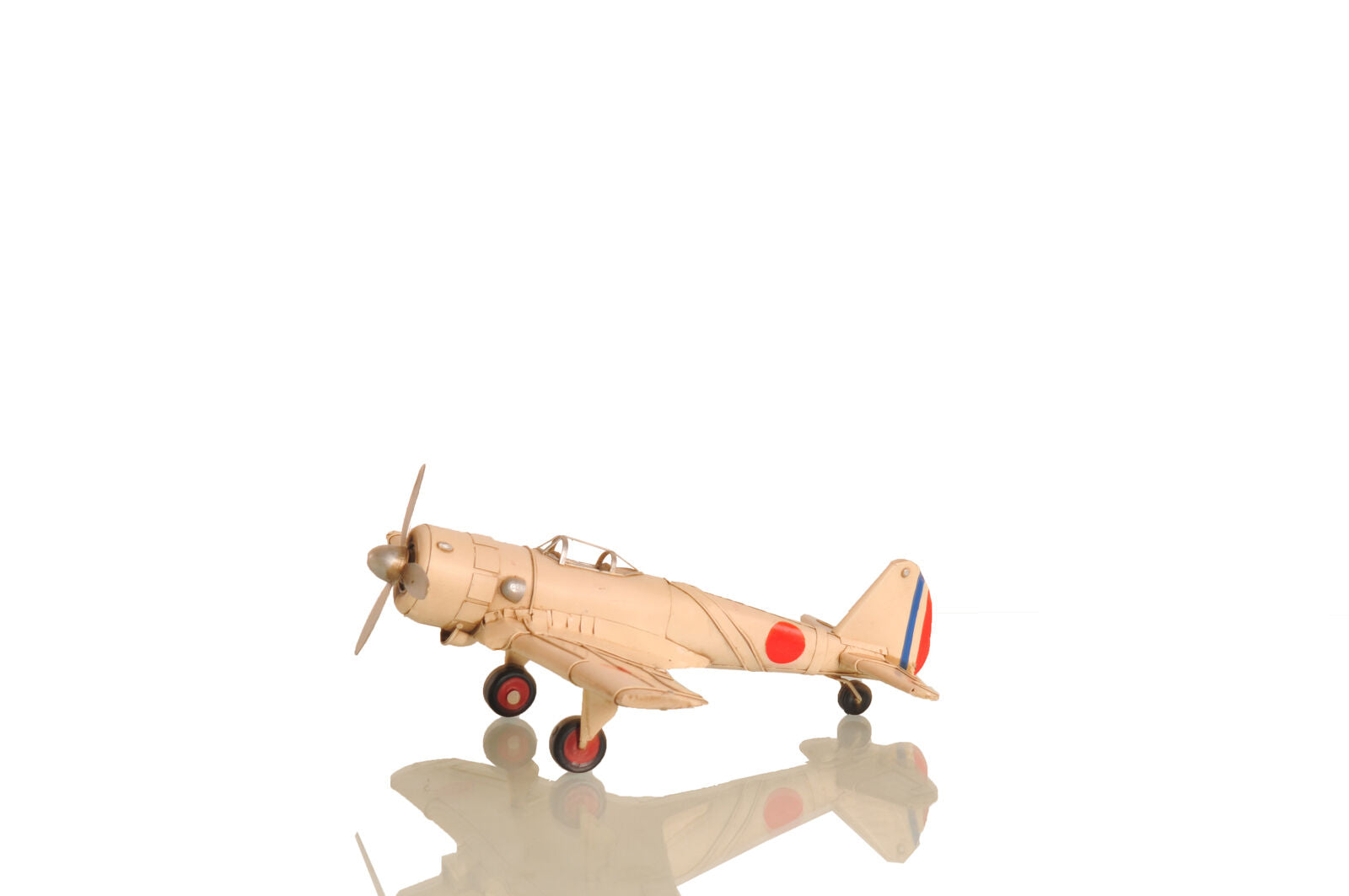 All Metal 1943 Nakajima Ki-43 Oscar Fighter Airplane Model