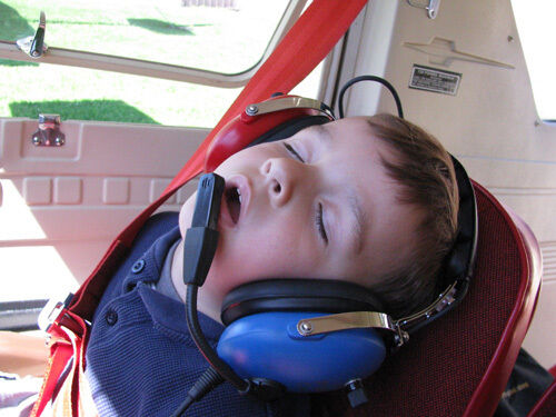 PilotUSA PA-1151ACB Child's Aviation Headset