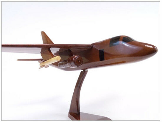 S-3 Viking Submarine Chaser Handcrafted Natural Mahogany Premium Wood Desk Model