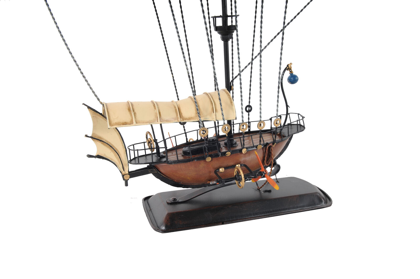 Unique Decorative All Metal Steampunk Airship Model
