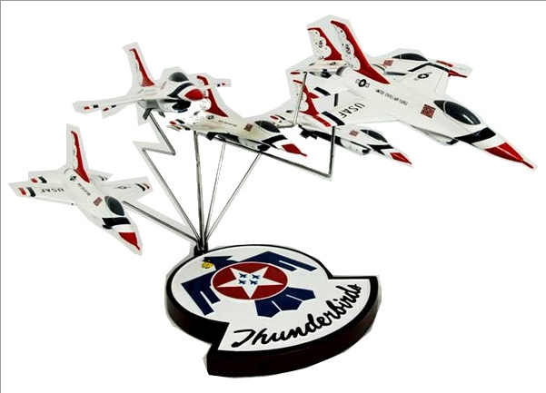 F-16 Thunderbirds Formation (6 Models) 1/72