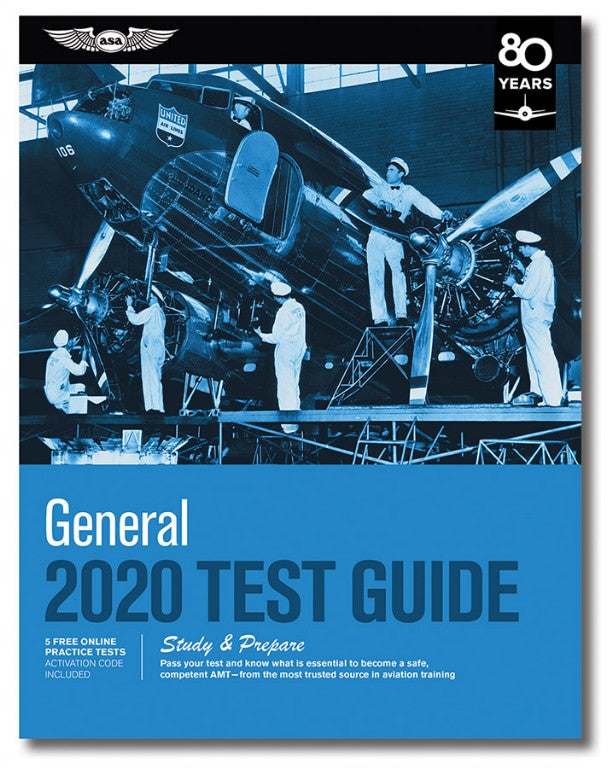 Easily Pass The FAA AMT General Test With The New 2020 AMT General Test Guide