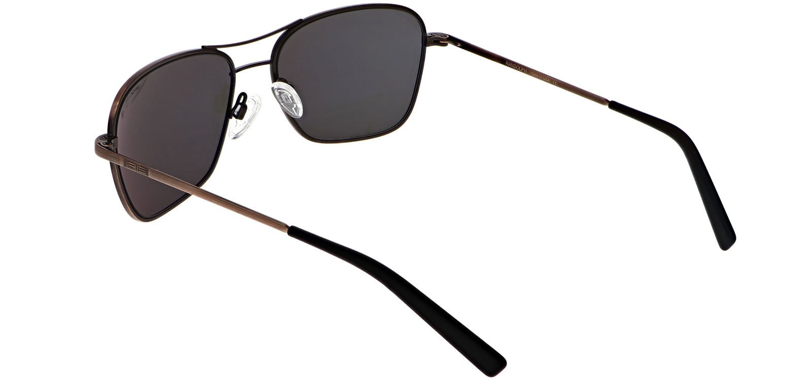 Randolph Corsair 58mm Skull Temple Polarized Lens Sunglasses