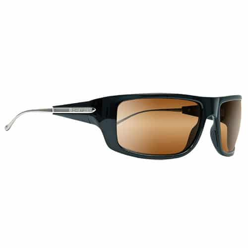 Panorama Black Frame High Contrast Bronze Lens Sunglasses