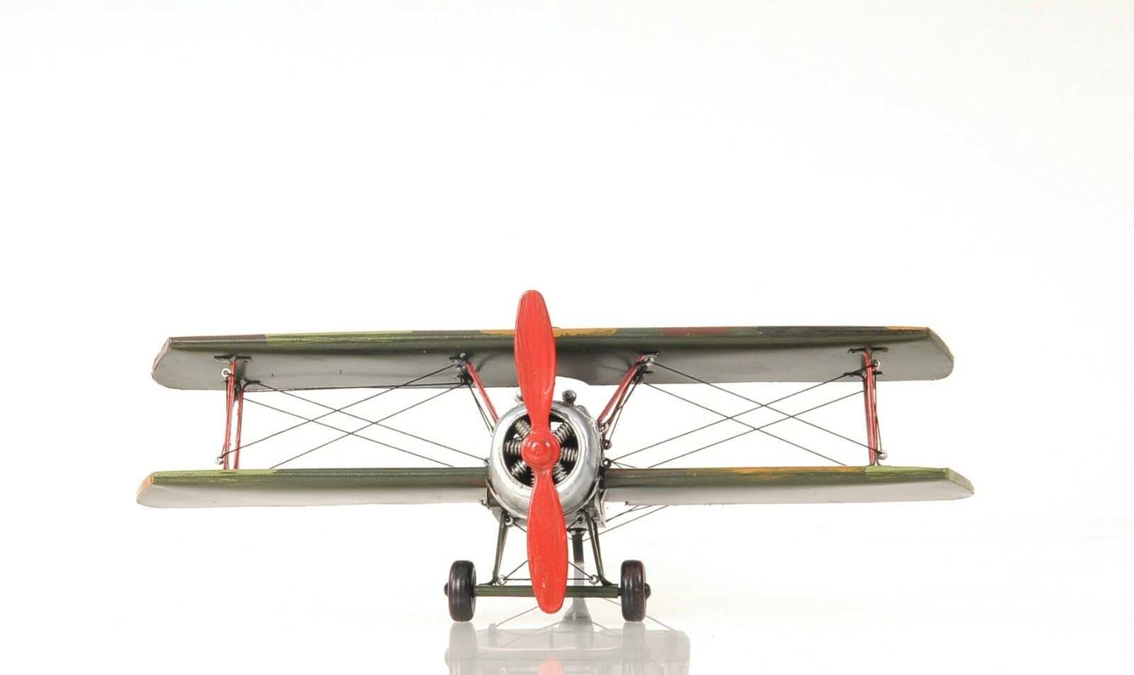 "1916 Sopwith Camel F.1 1:20 Metal Desk Model 10.3"" L X 14"" W X 6.5"" High"