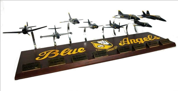 Blue Angles Collection 1/72 8 Plane Set