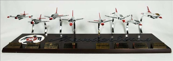 Thunderbirds Collection 8 Plane Set 1/72