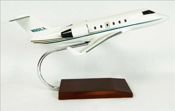 Bombardier Challenger 601 Business Jet 1/48 Scale Desk Model