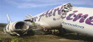 Air Jamaica Wreckage