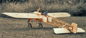 Vintage French Bleriot XI Aircraft