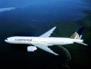Continental Pilot Dies Enroute from Brussels to Newark