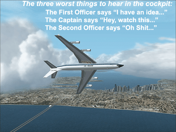 The Three Worst Things To Hear In The Cockpit