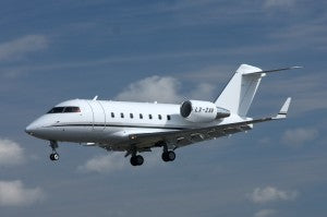 Canadair Challenger 600 at www.all-things-aviation.com