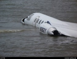 Citation Crash Into Water
