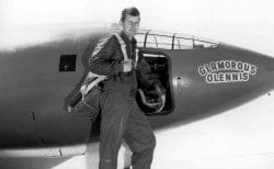 Chuck Yeager with the X-1 - The Harmon Trophy Story