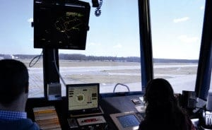 Air Traffic Control Tower Cab
