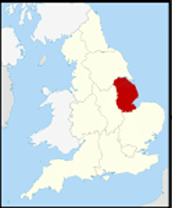 County Lincolnshire UK - Bomber County