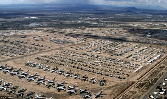Davis-Mothan Military Aircraft Graveyard