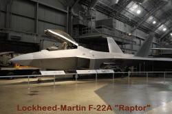 The Lockheed-Martin F-22A Raptor Fighter Aircraft