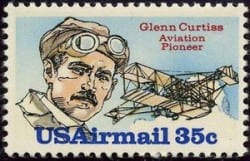Glenn Curtiss Stamp on www.all-things-aviation.com