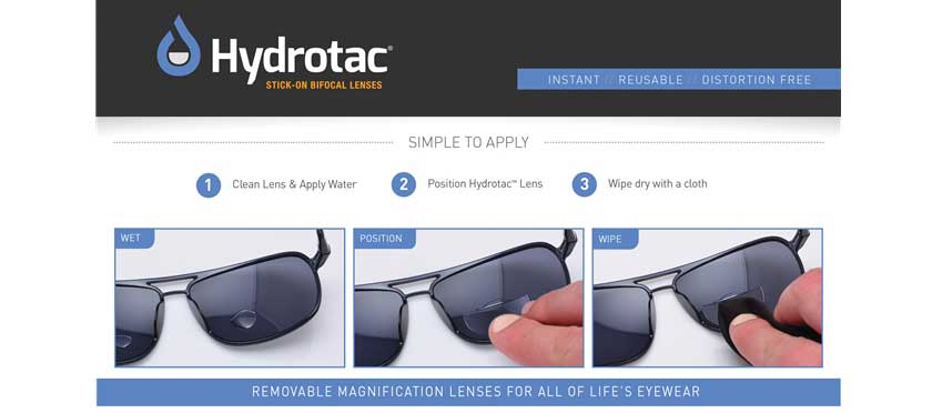 How To Install Hydrotac Lenses