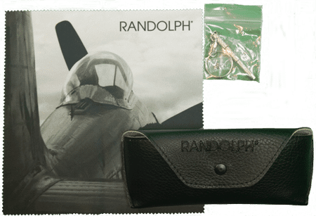 Randolph Pilot Sunglasses Packaging