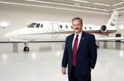 Jack Pelton, CEO of Cessna Aicraft