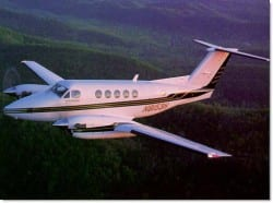 Beech King Air 200 Turboprop Aircraft