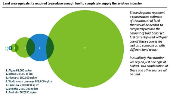 Land Use Biofuels For Aviation