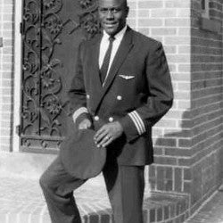 Marlon D. Green, first African American commercial airline pilot
