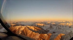 The Mountains Near Queenstown New Zealand From The Air