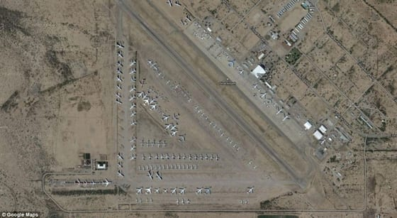 Pinal Airpark - The Final Resting Place For Old Commercial Airliners