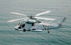 Sea Sprite Helicopter