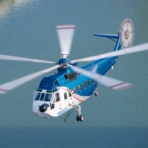Sikorsky S-61 Construction Helicopter