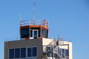 An Example Of Small Air Traffic Control Towers