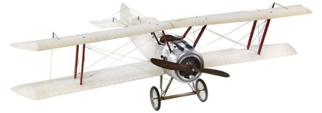 Authentic Models Translucent Sopwith Camel Model Airplane