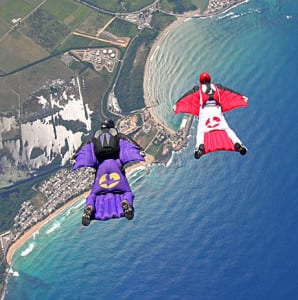 Wingsuit Flying Sport