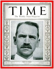 Glenn Curtiss On Time Magazine Cover at www.all-things-aviation.com