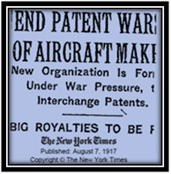 "New York Times ""End of Patent Wars"" Headline on www.all-things-aviation.com"